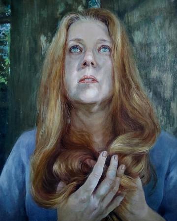 Hope Song, Oil on Linen, 11 x 14 Available through 33 Contemporary, Artsy https://www.artsy.net/artwork/sarah-warda-hope-song