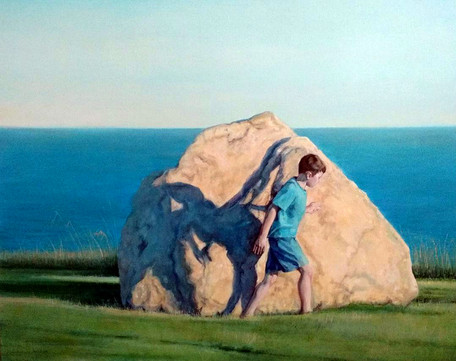 Passage, Oil on Canvas, 24 x 30