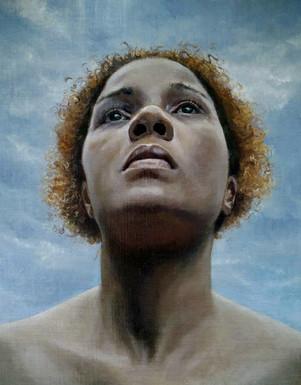 Sherieka Sky, Oil on Linen Panel, 14 x 11