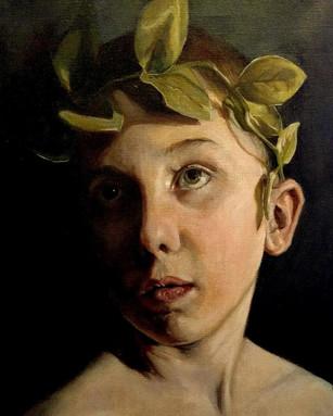 Little King, Oil on Linen, 12 x 16