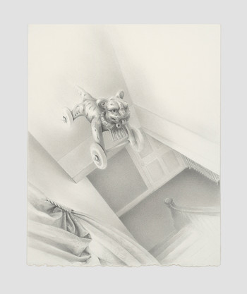 """Council Award, """"At the top of the Stairs"""" by Nancy Greco"""