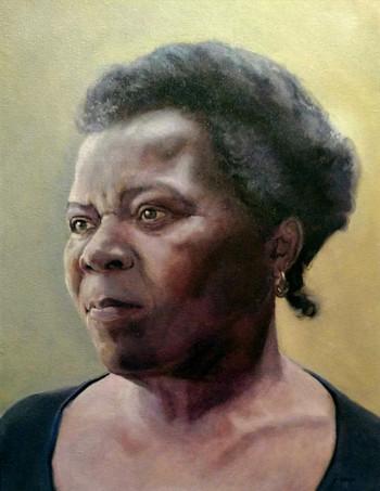 Suzette, Oil on Canvas, 18 x 24