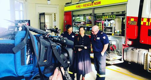 Senior Firefighters & Peer Supporters Tara J Lal & John McGarvey