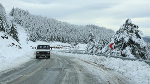Muğla Bölgesi'nin Yüksek Kesimlerine Kar Geliyor