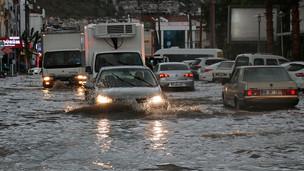 Fethiye Çevrelerinde Kuvvetli Yağışlara Dikkat