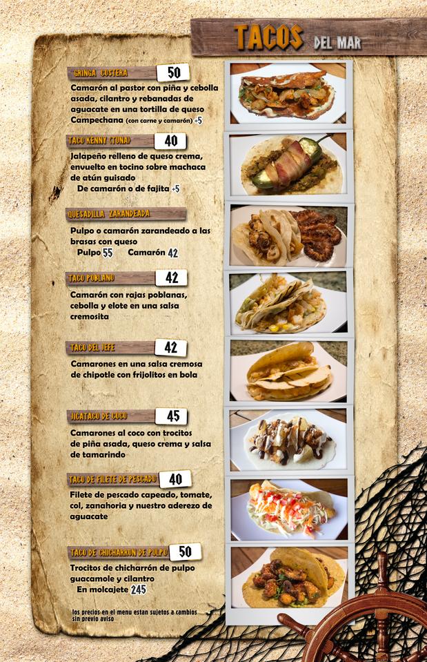 Tacos de mariscos
