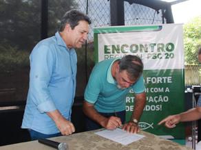 Em Augustinópolis, Damaso realiza encontro do PSC e leva orientações a pré-candidatos