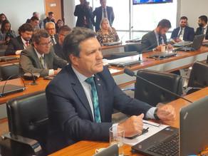 Damaso emplaca emendas na LDO para a infraestrutura