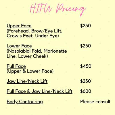 HIFU Pricing.png
