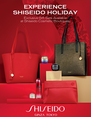 Shiseido Holiday Gift Collection Seattle