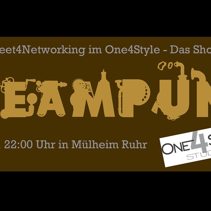 """Meet4Networking: """"Das Shooting Event"""" mit dem Thema Steampunk"""