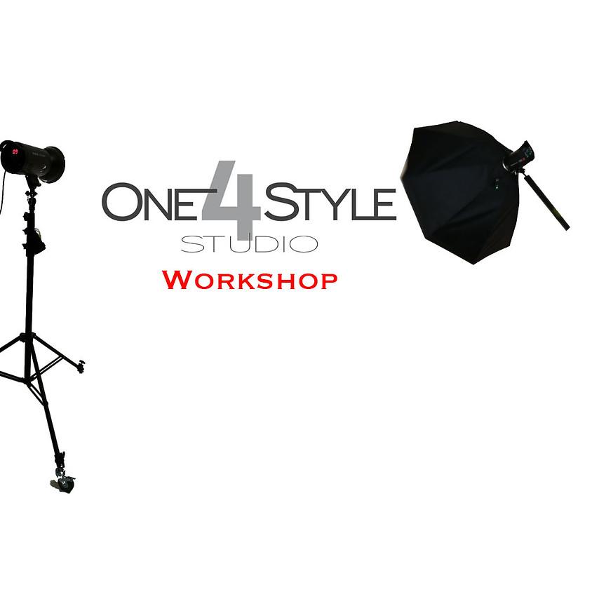 Einführung in die Studio Lichtsetzung für die Modelfotografie mit Ortwin Schneider