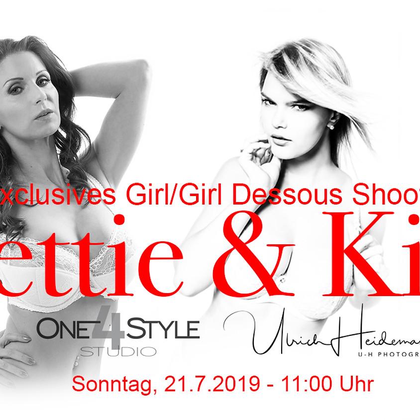G/G Dessous Shooting Bettie & Kim