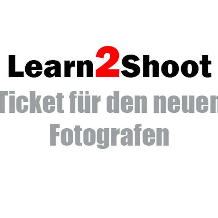 """Peter Nowak´s """"Learn2Shoot"""" - Ticket neuer Fotograf"""