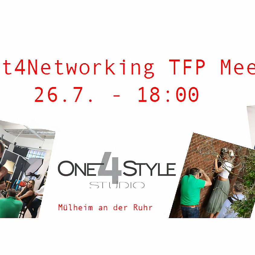 Tickets für Fotografen: Meet4Networking: Shooting Meet-Up