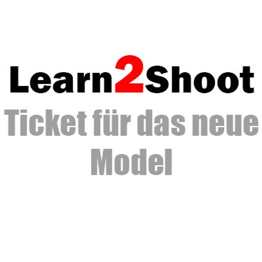 """Peter Nowak´s """"Learn2Shoot"""" - Ticket für das neue Model"""