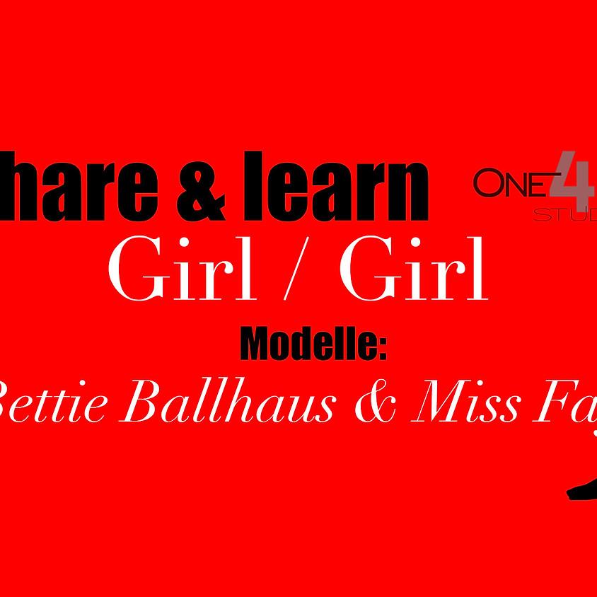 """share&learn"" Girl/Girl Dessous Bettie Ballhaus und Miss Fay"