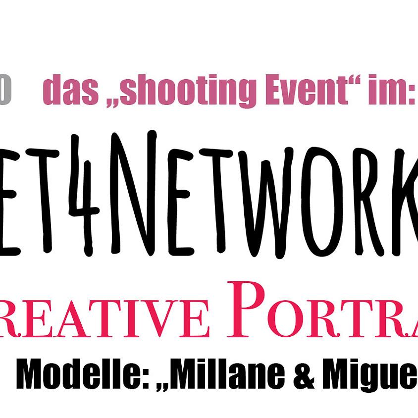 "Meet4Networking: ""Das Shooting Event"" Kreative Portraits"