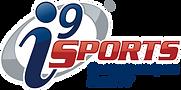 Metallic i9 Sports logo 3D with tagline