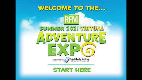Welcome to the RFM Summer 2021 Virtual Adventure Expo