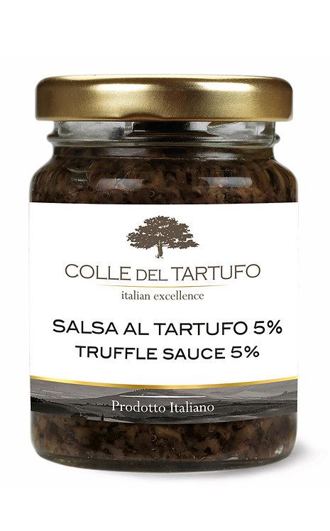 Black Truffle Sauce 5% (500gr)
