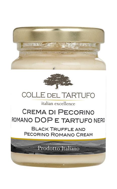 Black Truffle and Pecorino Cream (500gr)