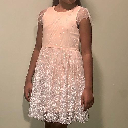 Peach Sparkle Dress