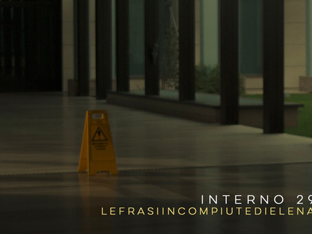 """ANTEPRIMA: """"Interno 29"""", il gioiello d'esordio di LefrasiincompiutediElena"""