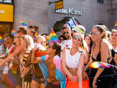 Gli eventi del Pride lungo lo stivale