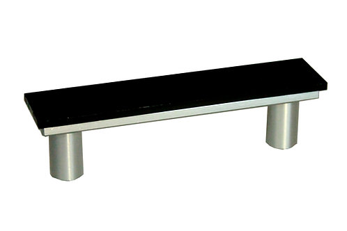 Silver Cabinet Handle - DIY Customizable, Interchangeable Handle