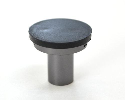 Gray Cabinet Knob - DIY Customizable, Interchangeable Knob