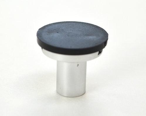 Silver Cabinet Knob - DIY Customizable, Interchangeable Knob