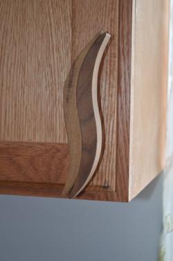 Wooden wave handle