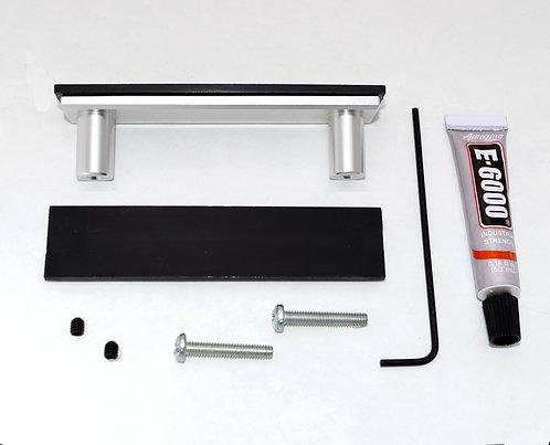 Silver Cabinet Handle - DIY Customizable Kit
