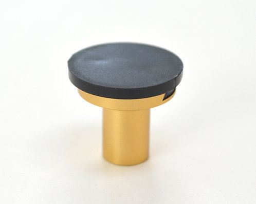 Gold Cabinet Knob - DIY Customizable, Interchangeable Knob