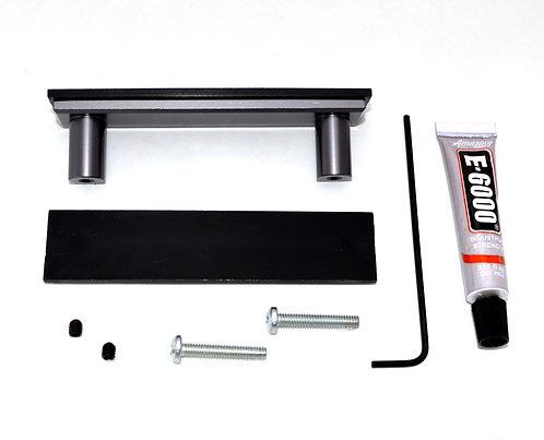 Gray Cabinet Handle - DIY Customizable Kit