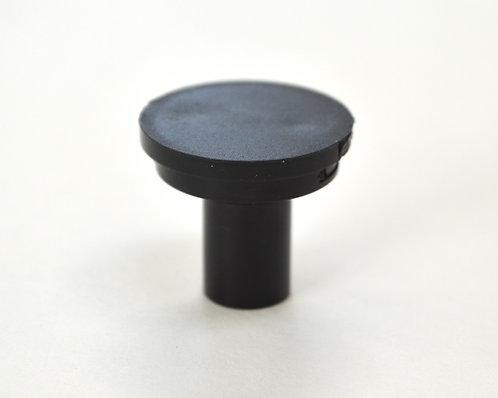 Black Cabinet Knob - DIY Customizable, Interchangeable Knob