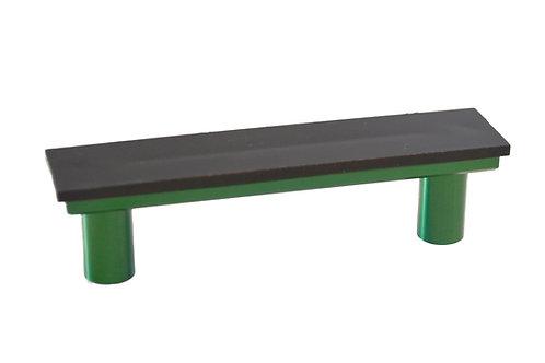 Green Cabinet Handle - DIY Customizable, Interchangeable Handle