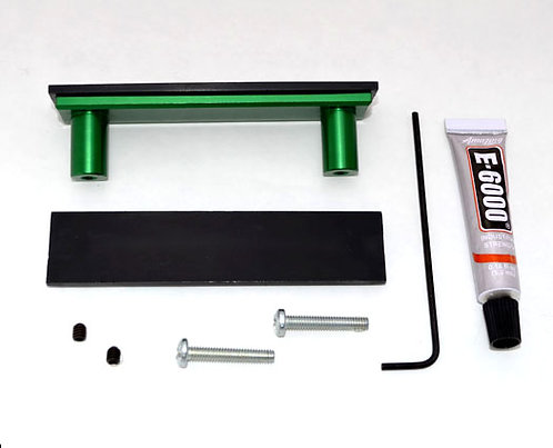 Green Cabinet Handle - DIY Customizable Kit