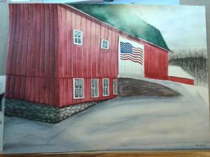 'Barn on Lefort Road'