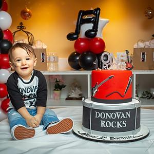 Happy 1st Birthday Donovan!