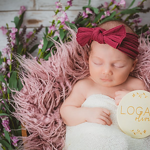 Welcome Baby Logan
