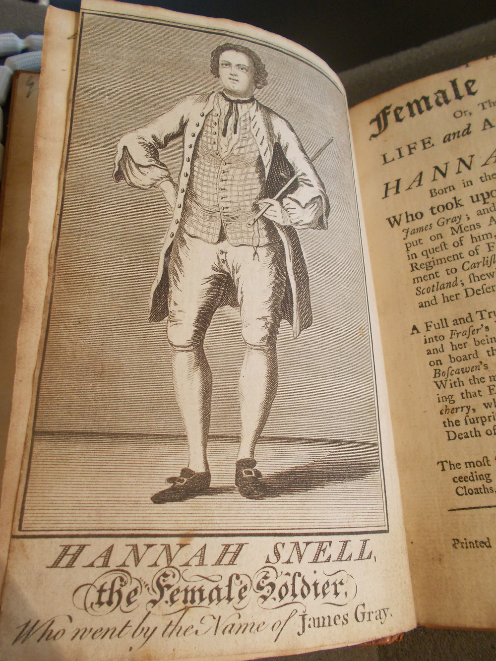Female Soldier Or, The Surprising Life and Adventures of Hannah Snell