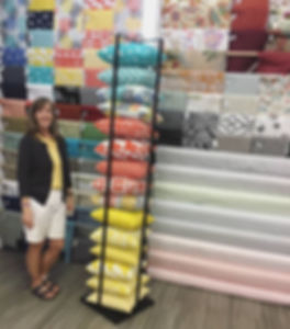 If you have purchased home decor fabric in Fort Worth you probably recognize Karen Smith.jpg
