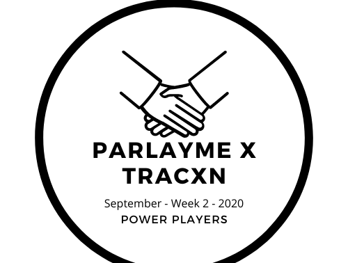 Top funding deals 1.4 - ParlayMe x Tracxn Edition