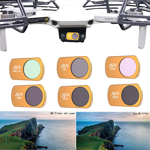Mini Drone Optical Glass Camera Lens HD Filter KitUV  Mini Camera Accessories