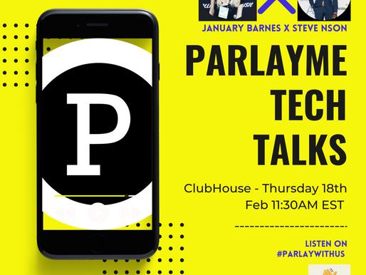 ParlayMe Tech Talks