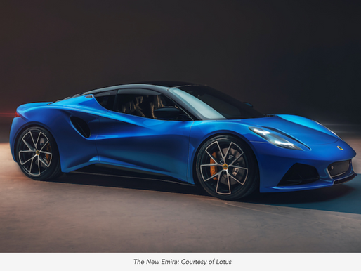 Bring On The Brand New Lotus Emira