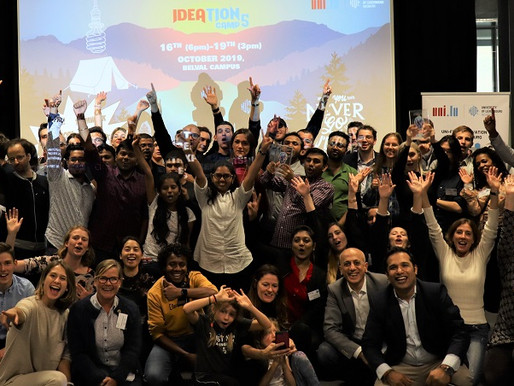 Entrepreneurship Programme of the University of Luxembourg - Ideation Camp