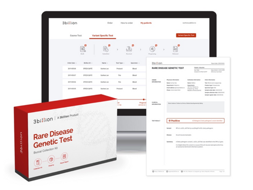 3billion Inc., a rare disease diagnostics company, raises $13M in a Series C financing.